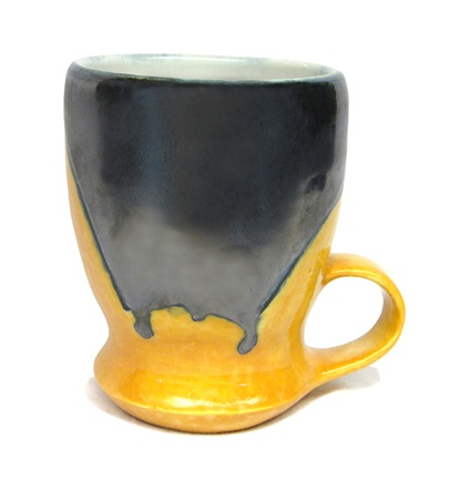 Grey/Yellow Cup