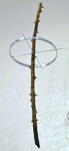 contemporary minimalist mixed media sculpture