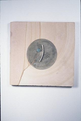 contemporary Minimalist mixed media sculpture & jewelry