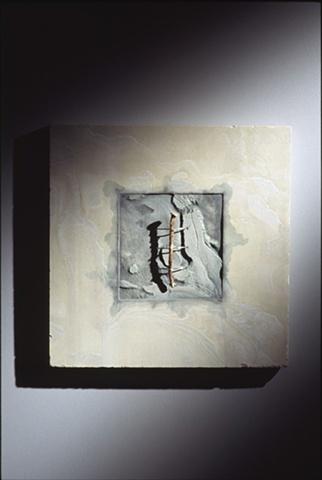 contemporary Minimalist mixed-media sculpture