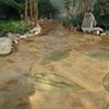 Concrete floor for the Garfield Park Conservatory, Chicago