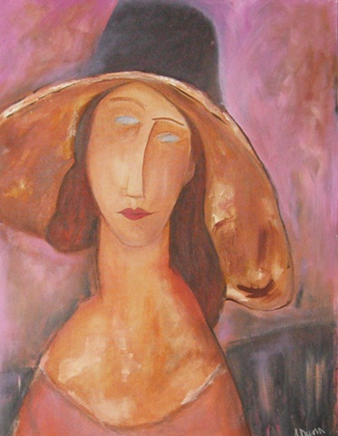"""Lady with a Hat"""