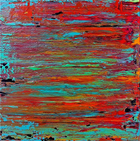 abstract, contemporary, red, turquoise, fuschia, black, aqua, modern art, contemporary art, contemporary abstract art, contemporary painting, modern painting