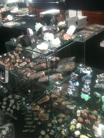 Tucson 2012 showroom
