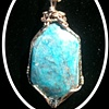 amazonite in 18k gold