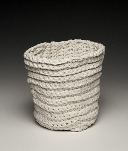 Crochet Ridge Vessel