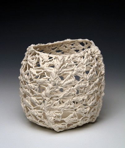 Triangle Lace Vessel