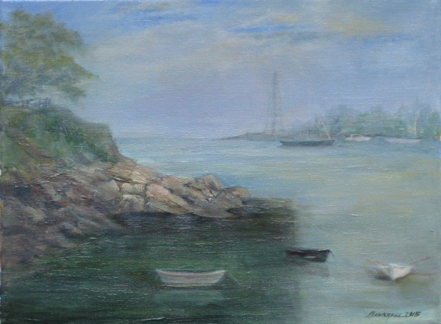 Sold instantly at Marblehead Arts Festival painting exhibit 2016