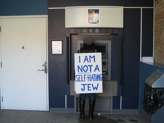not a self-hating jew