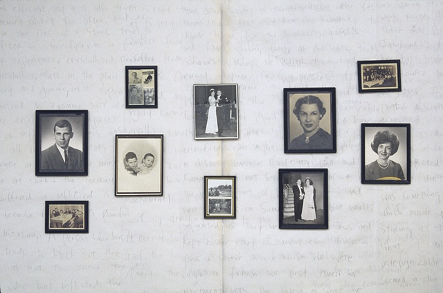 album, a postmemory installation