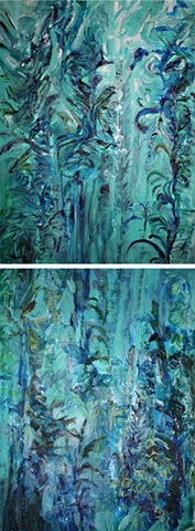 Kelp forest, #3, SOLD