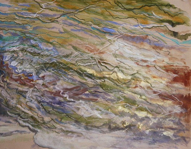 Oil and Water, #1, SOLD