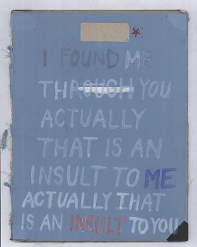 An Insult
