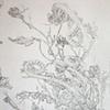 Shrine Drawing (Detail)