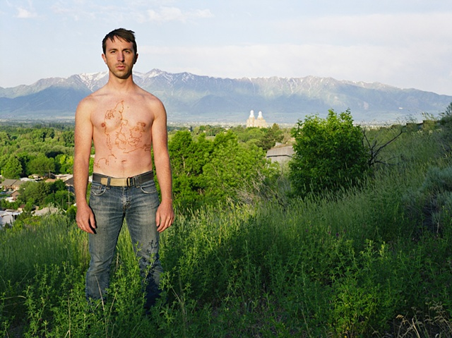 Shawn Bitters Photography Denmark Hirsholm maps cartogrpahy tattoo ancestry Danish Council of Artists Cache Valley Logan LDS Temple