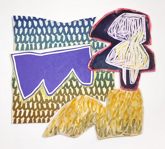 Justine Hill exhibited in NADA New York with Denny Gallery, 2018