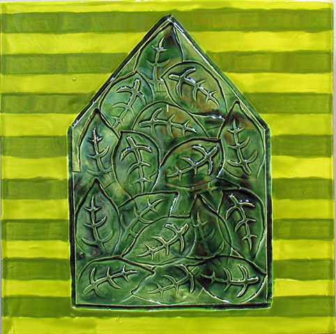 "SOLD Home - II 12""x12"""
