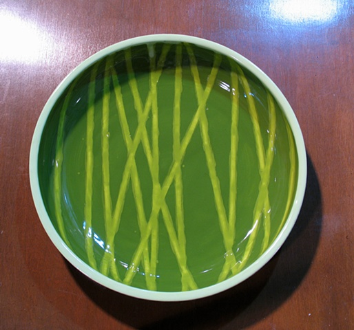SOLD Bamboo Bowl