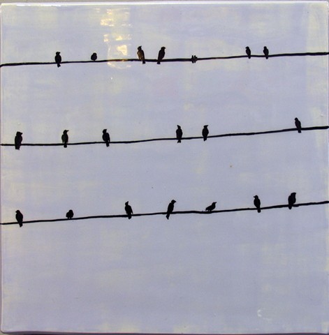 SOLD Gossip - B - birds on a wire