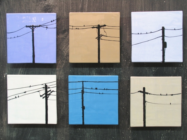 SOLD Birds on a Wire (6)