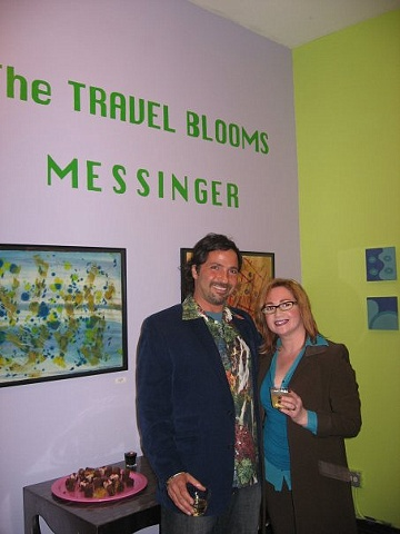 The Travel Blooms- May 1-June 6, 2009
