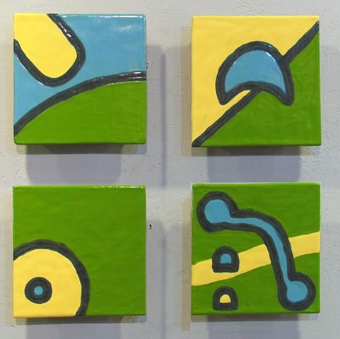 Child's Play - 4 8x8 tiles