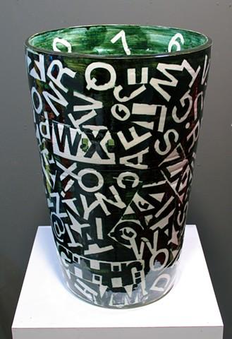 Alphabet Vase II