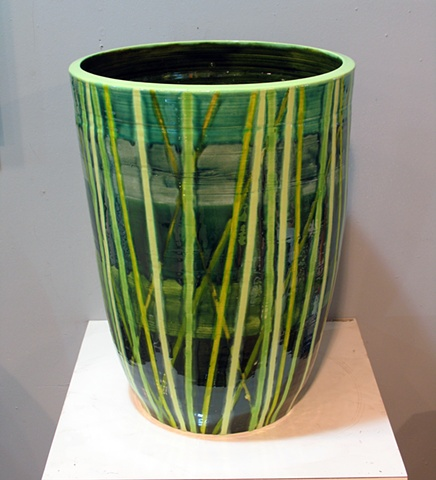 SOLD - Bamboo Vase