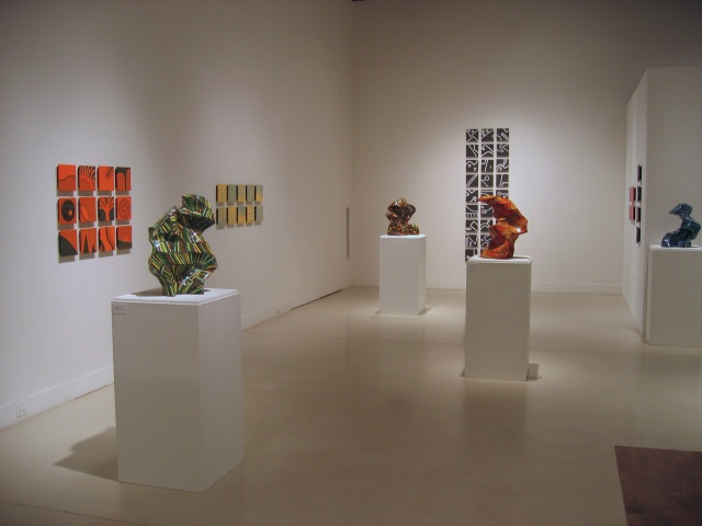 Freedman Gallery Solo Show - view 2