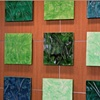 Leaf Mural -detail - Chicagoland Hospital