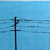 SOLD - Birds On A Wire II