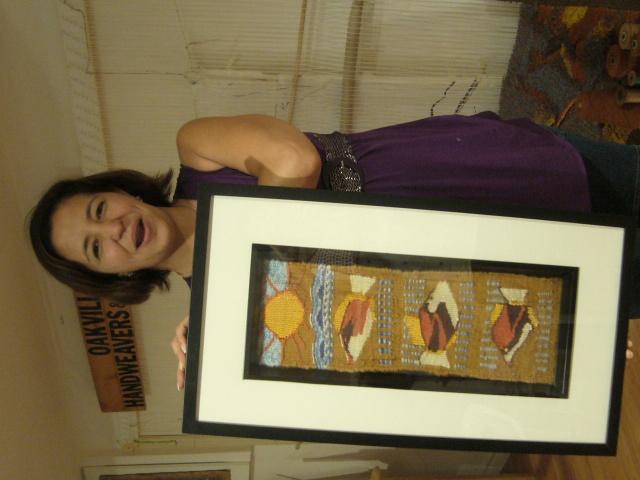 First tapestry by Elsa Poorrashidi