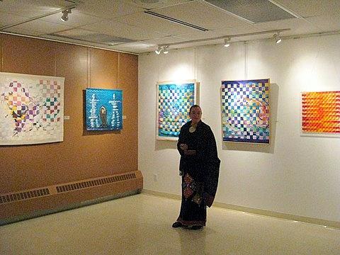 Dennise Coker and her Art