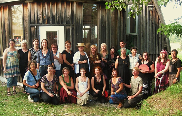 Artists at the Vernissage August 28 2010