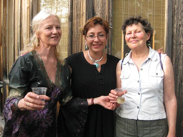With Jolanta Sprawka Edith Meusnier and me