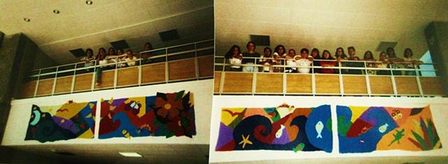Panels at the Hospital for Burned Kids