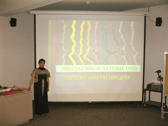 Lecture: Pre-Colombian Natural Dyes