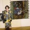 Batik exhibit in UNESCO HALL, Paris