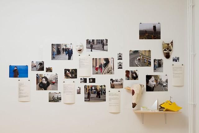 [Prague] Masks, 2013  Photographs by Fortuna Hernandez, Graham Harlan Smith, Anna Adler