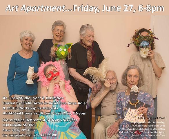 Final Invite to Art Apartment