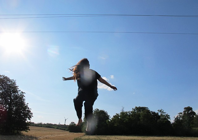 Tina Trampoline w/Sun Spots Kleylehof, Austria