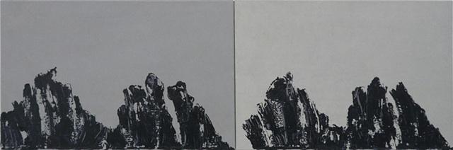 """Untitled,"" 2010 Nr. 2010-03-01 & Nr. 2010-03-02"