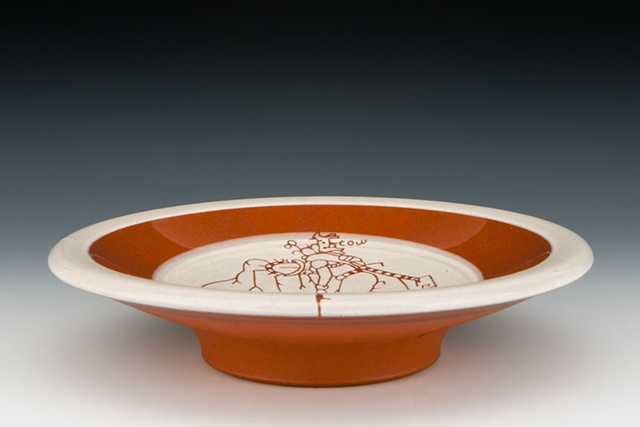 """Rooted"" (small dish), view 1"