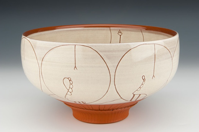 """Consumers II"" (bowl), view 1"