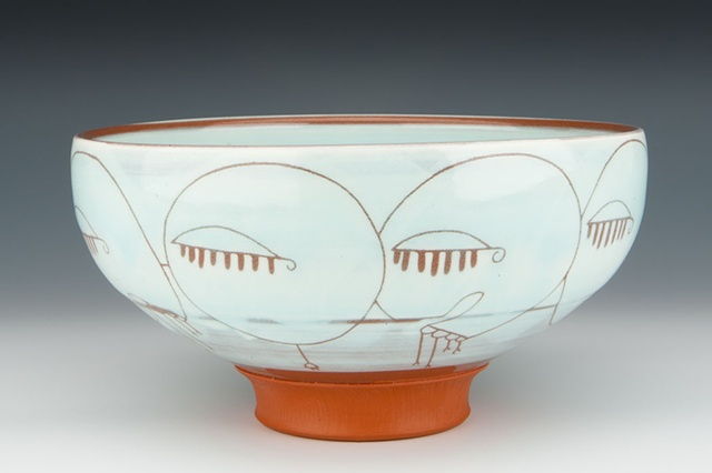 """Consumers"" (bowl), view 1"