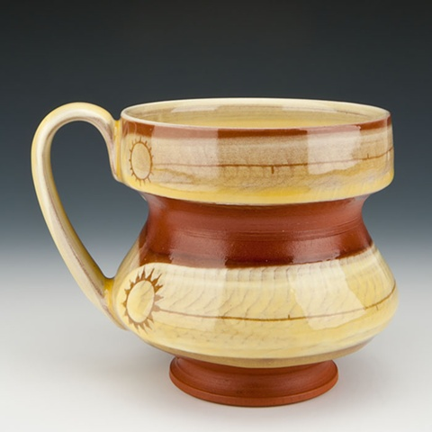 """Sun Lines"" (handled cup)"