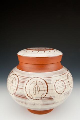 """Medicine Man"" (lidded jar), view 2"