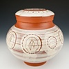 """Medicine Man"" (lidded jar), view 2"