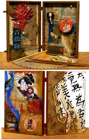Enter the world of the Geisha thru this box