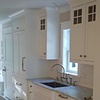 Sink area in Kitchen built using FSC certified material for LEED project.